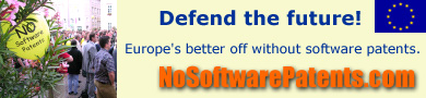 No software patents in Europe